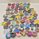 Six Flags Magic Mountain Dc Comics Villians and Heroes Buttons New (Lot of 70)