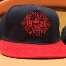 Disney Parks Authentic Mickey Mouse 1928 Original SnapBack Hat Cap New