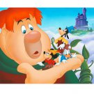 Disney Parks Mickey Goofy Donald Fun & Fancy Free LE Giclee by Don Williams
