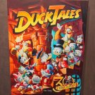 Disney D23 Expo 2017 DuckTales 30th Anniversary LE Giclee By Mike Peraza New