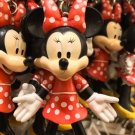Disney Parks Minnie Mouse Posable Rubber Keychain New**