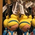 Disney Parks Cartoon Cuties Princess Cinderella Figurine Keychain New