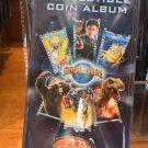 Universal Studios Exclusive Collectible Coin Album New