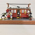 Disney Parks Mickey Minnie Clarabella Horace Red Car Trolley Light-Up Figurine