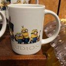 Universal Studios Exclusive Despicable Me Minions Evolution Ceramic Mug New