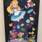 Disney WonderGround Alice in Wonderland Mad Tea Party LE Giclee by Bill Robinson