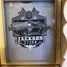 DISNEY PARKS CARS CARS LAND EXCLUSIVE JACKSON STORM MENS SHIRT LARGE NEW