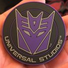 Universal Studios Exclusive Transformers Decepticons Magnet New
