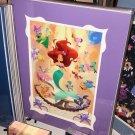 Disney WonderGround Little Mermaid Ariel's Orchestra Print by Bill Robinson New