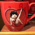 Universal Studios Exclusive Betty Boop Red Ceramic Mug New