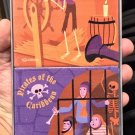 Disney D23 Expo 2017 Scoundrels and Skeletons By Shag Coaster Set New