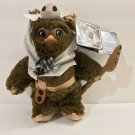 "Disney Parks Star Wars PAPLOO Ewok 9"" Plush New with Tag"