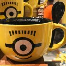 Universal Studios Exclusive Despicable Me Minions Double Sided Mug With Spoon