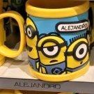 Universal Studios Minions Despicable Me Plastic Mug (Alejandro-Alejadra-Alex)