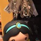 Disney Parks Cartoon Cuties Aladdin's Princess Jasmine Figurine Keychain New