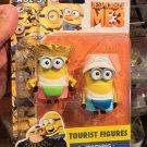 Universal Studios Exclusive Despicable Me3 Minions Tourist Figures New