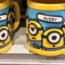 Universal Studios Minions Despicable Me Plastic Mug (Autumn-Ava-Avery-Bailey)