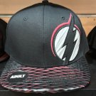 Six Flags Magic Mountain Dc Comics The Flash Black / Red Snapback Hat New*