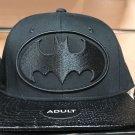 Six Flags Magic Mountain Dc Comics Batman Black Snapback Hat New*