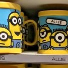 Universal Studios Minions Despicable Me Plastic Mug (Alexa-Alexis-Allie-Alondra)