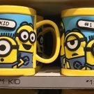 Universal Studios Minions Despicable Me Plastic Mug (#1Dancer-#1Kid-#1Minion)