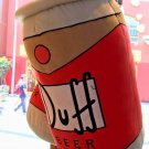 "Universal Studios Exclusive The Simpsons 18"" Duff Beer Can Pillow Plush New"