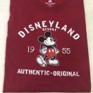 Disneyland Resort Mickey Mouse 1955 Authentic Original T-Shirt Size XXL New