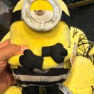 "Universal Studios Despicable Me Mel Prisoner Minion 10"" Plush New with Tags"