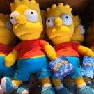 "Universal Studios Exclusive The Simpson Bart Simpson 13"" Plush Doll New with Tag"
