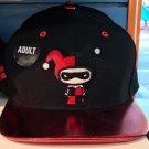 Six Flags Magic Mountain Dc Comics Harley Quinn Emoji Red Lip Hat Cap New