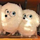 """Universal Studios The Secret Life of Pets Gidget White Samoyed Dog 10"""" Plush New"""