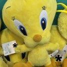 "Six Flags Magic Mountain Looney Tunes Baby Tweety Bird 15"" Plush New"