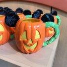 Disney Parks Mickey Mouse Pumpkin Halloween Ceramic Coffee Mug New