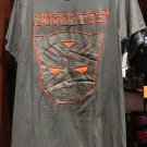 UNIVERSAL STUDIOS TRANSFORMERS AUTOBOTS PUFF SHIELD GRAY T-SHIRT MEDIUM NEW