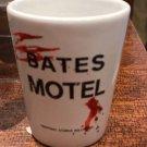 Universal Studios Exclusive Blood Splatter Psycho Bates Motel Ceramic Shot Glass