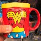 Six Flags Magic Mountain Dc Comics Wonder Woman Mug w/ Cape New