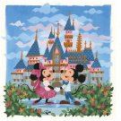 Disney WonderGround Magical Day Mickey & Minnie Postcard Griselda Sastrawina New