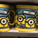 Universal Studios Minions Despicable Me Plastic Mug (Adriana-Aidan-Aiden-Aj)
