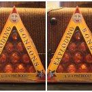 Universal Studios Harry Potter Bonbons Orange Pineapple Flavor Chocolate Set of2