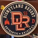 Disneyland Resort DLR 55 Authentic Original Rubber Magnet New