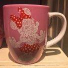 Disney Parks Disneyland Resort Always Adorable Minnie Mouse White Handle Mug New