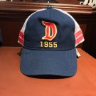 Disney Parks Disneyland Resort Big D 1955 Mesh Snapback Hat Cap New