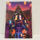 Disney WonderGround Tiki Room Sing Like A Tiki Bird Postcard Singed by Joey Chou