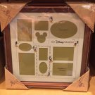 "Disney Parks ""Our Disney Vacation"" Mickey Multi Collage Photo Picture Frame New"