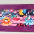 Disney WonderGround Gallery Tea Cups Postcard Singed by Joey Chou