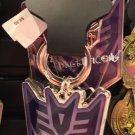 Universal Studios Exclusive Transformers Decepticons Acrylic / Metal Keychain