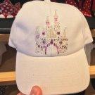 Disney Parks Disneyland Sleeping Beauty Castle w/ Stones Adjustable Hat Cap New