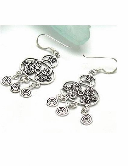 EX-8004     Handmade 925 Sterling Silver Earrings