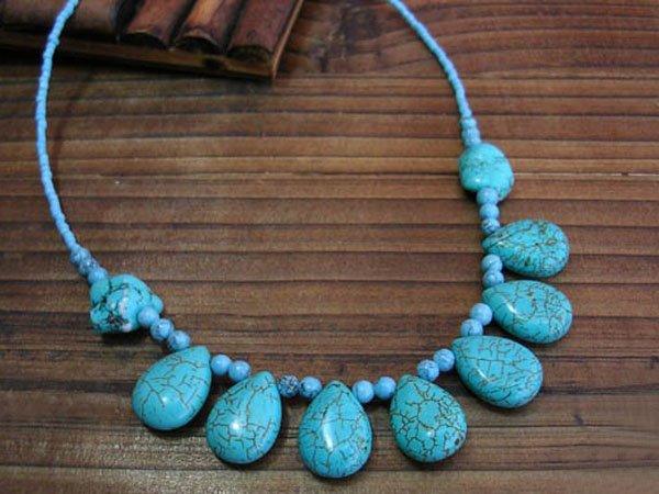 DSCN-1750     Turquoise  Necklace