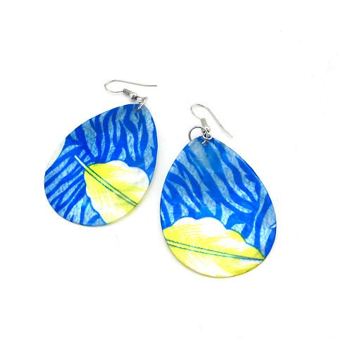 EBK-8006  Natural Shell Earrings
